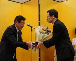 放射線医療センター退職記念祝賀会・歓送迎会